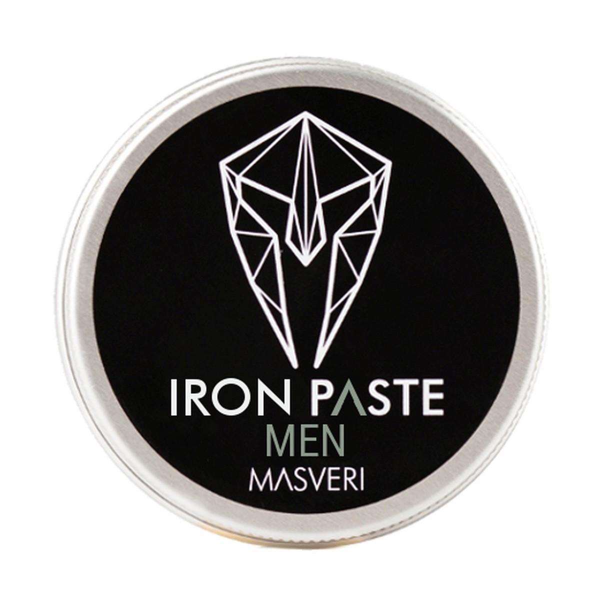 MASVERI Men Iron Paste 100ml - Matująca pasta do włosów