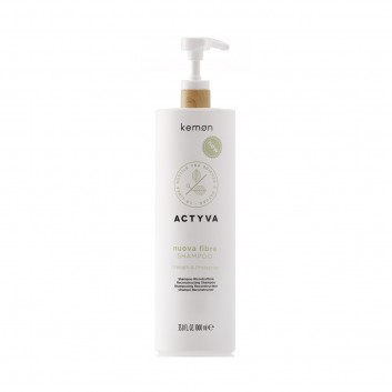 KEMON Actyva Nuova Fibra Shampoo 1000ml - Szampon odbudowujący
