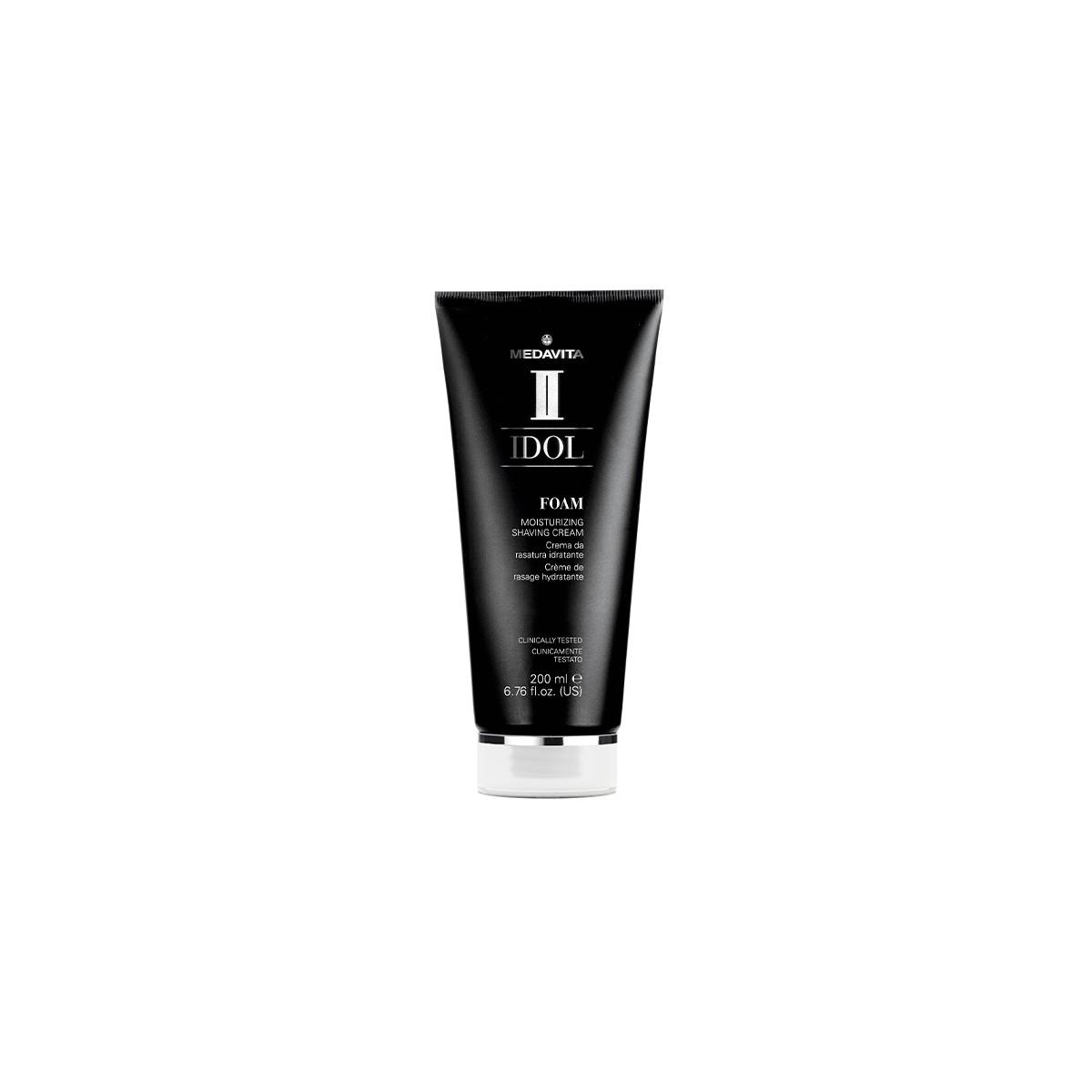 MEDAVITA Idol Man Foam Moisturizing Shaving Cream 200ml - Nawilżający krem do golenia