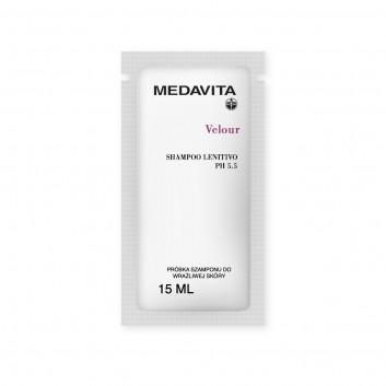 MEDAVITA szampon do wrażliwej skóry Velour Shampoo Lenitivo pH 5.5 - Próbka 15ml