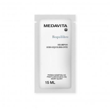 MEDAVITA szampon do przetłuszczającej się skóry głowy Requilibre Shampoo Sebo-Equilibrante - Próbka 15ml