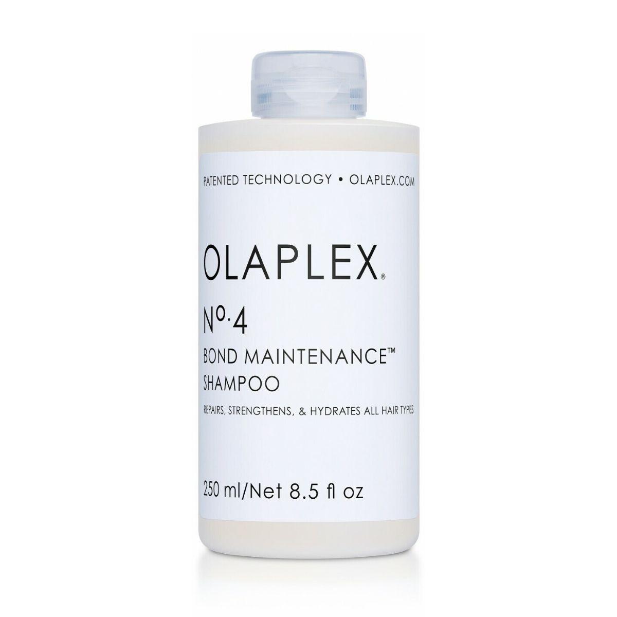 OLAPLEX No.4 Bond Maintenance Shampoo 250ml - Szampon odbudowujący do każdego rodzaju włosów