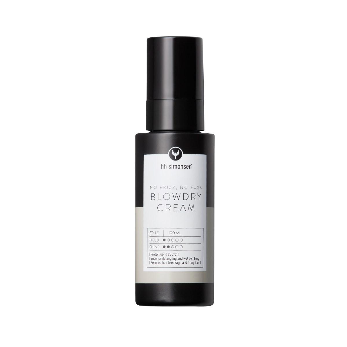 HH SIMONSEN Blowdry Cream 150ml - Krem do stylizacji włosów z wyciągiem z miodu
