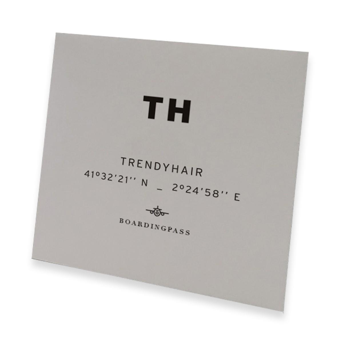TRENDY HAIR Boarding Pass Elastic - Zestaw Szampon 7ml + Odżywka 7ml + Maska 7ml