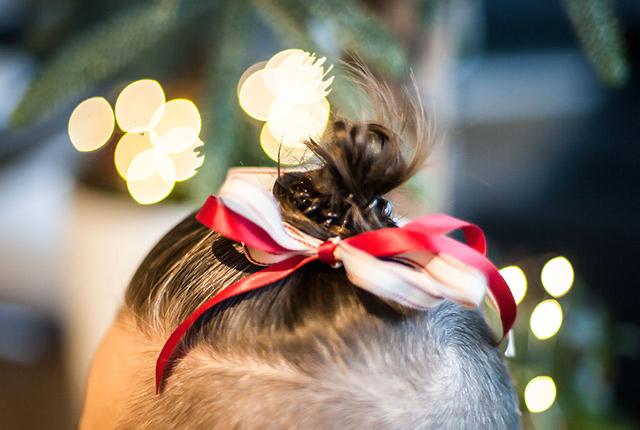Fryzura świąteczna