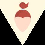 Jaka fryzura do kształtu twarzy - twarz trójkątna