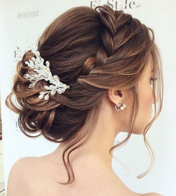 fryzury na ślub w 2017 koki