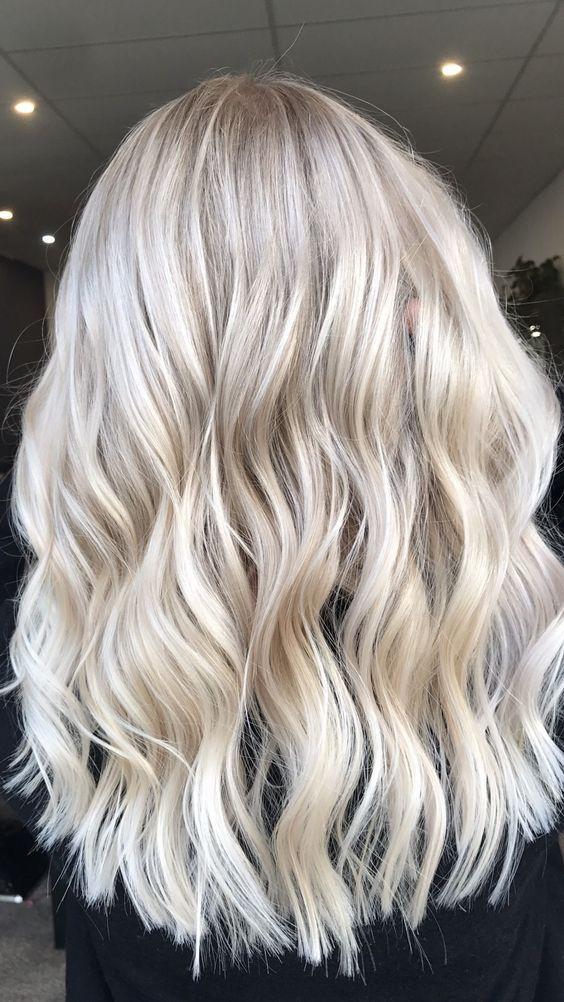 popielaty blond kolory 2017