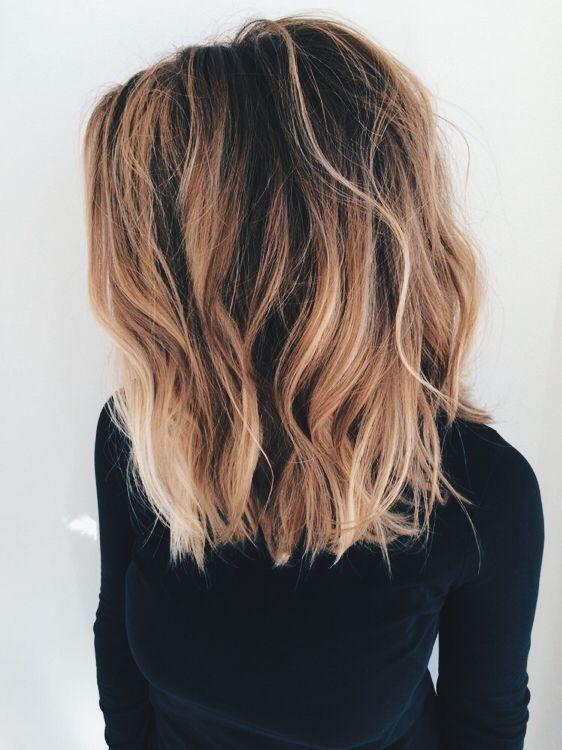fale fryzura na randkę