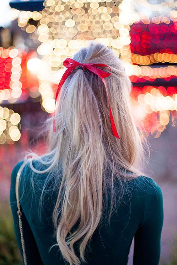 fryzury świąteczne