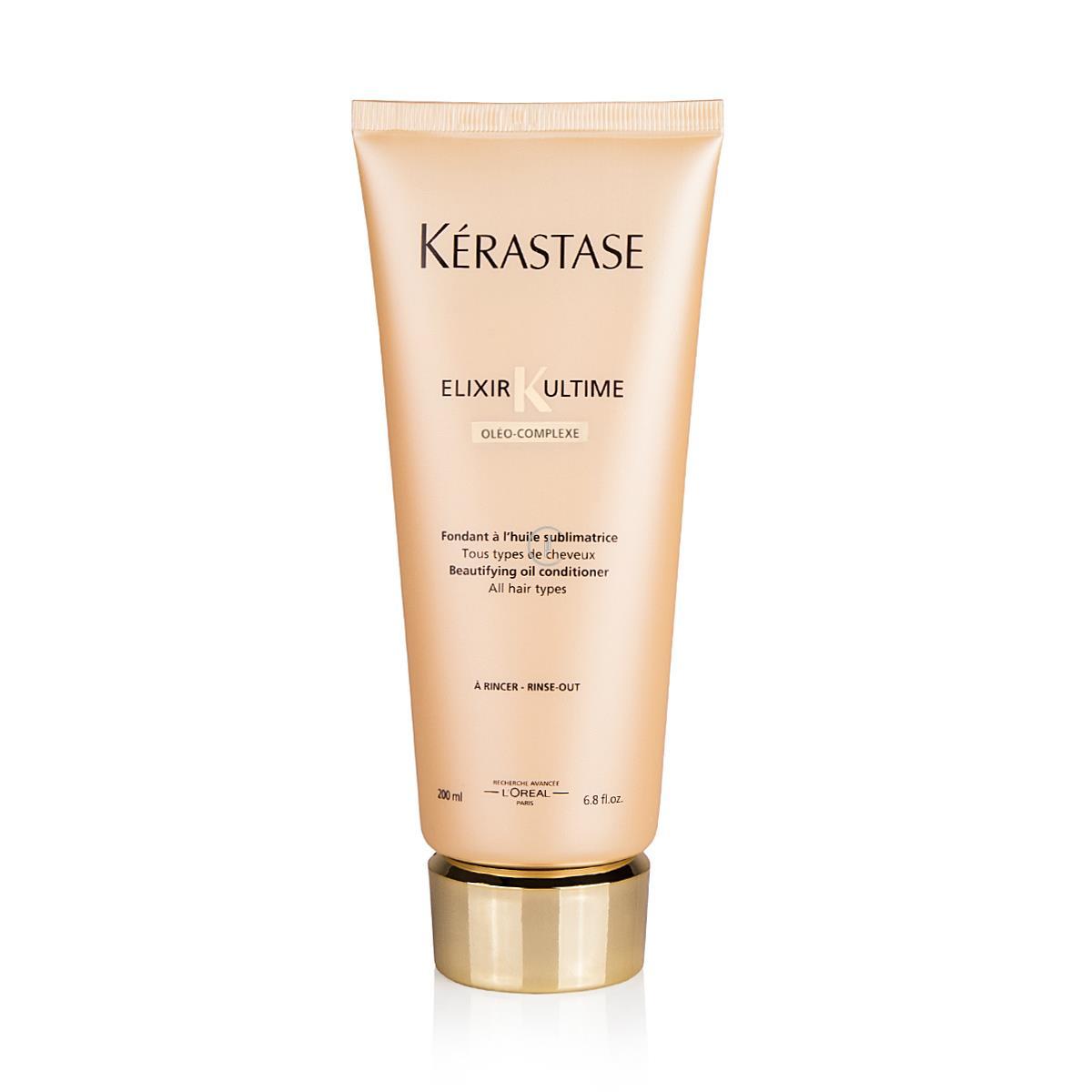 KERASTASE Elixir Ultime Beautifying Oil Conditioner 200ml - Odżywka do włosów na bazie szlachetnych olejków