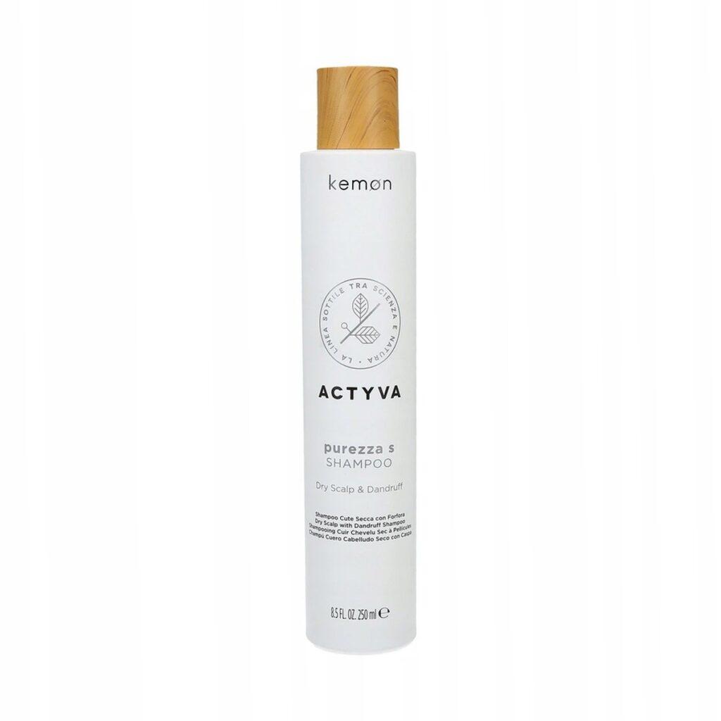 KEMON Actyva Purezza Scalp & Dandruf Shampoo 250ml - Szampon przeciwłupieżowy
