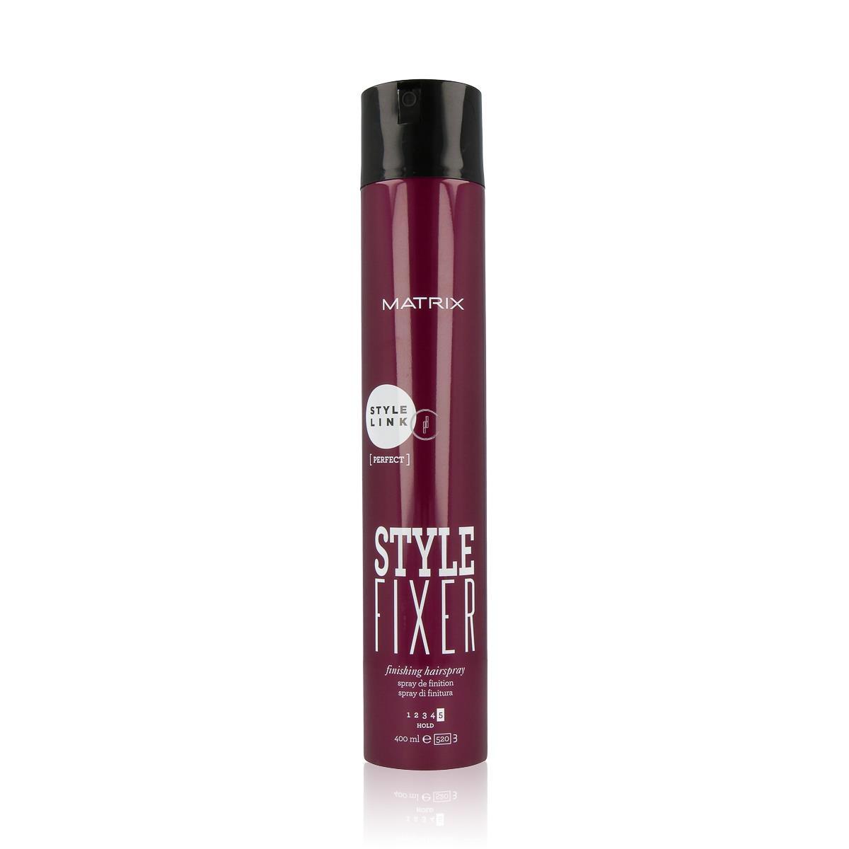 MATRIX Style Link Style Fixer Finishing Hairspray - Mocno utrwalający lakier do włosów
