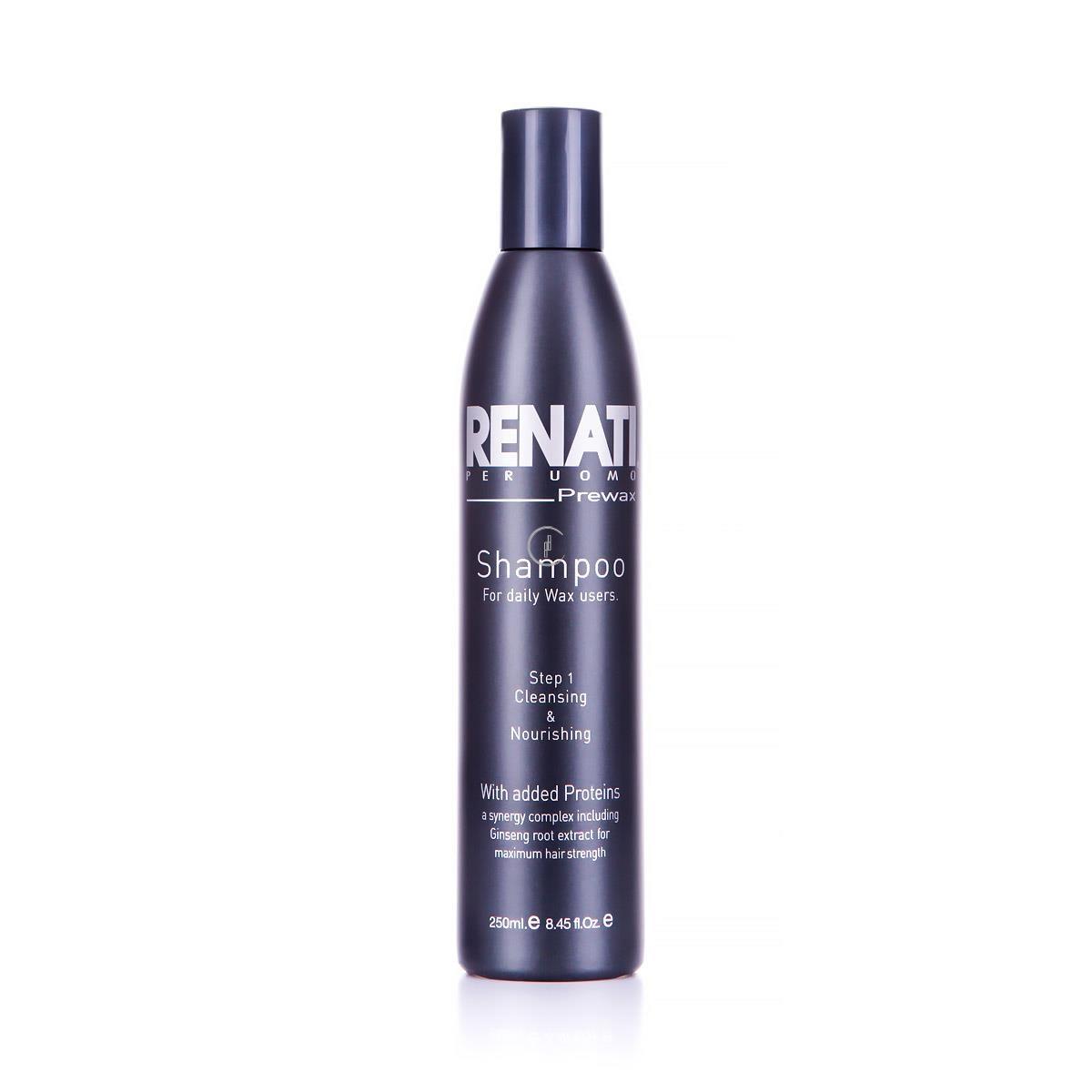 RENATI Per Uomo Pre Wax Shampoo - Szampon oczyszczający dla mężczyzn