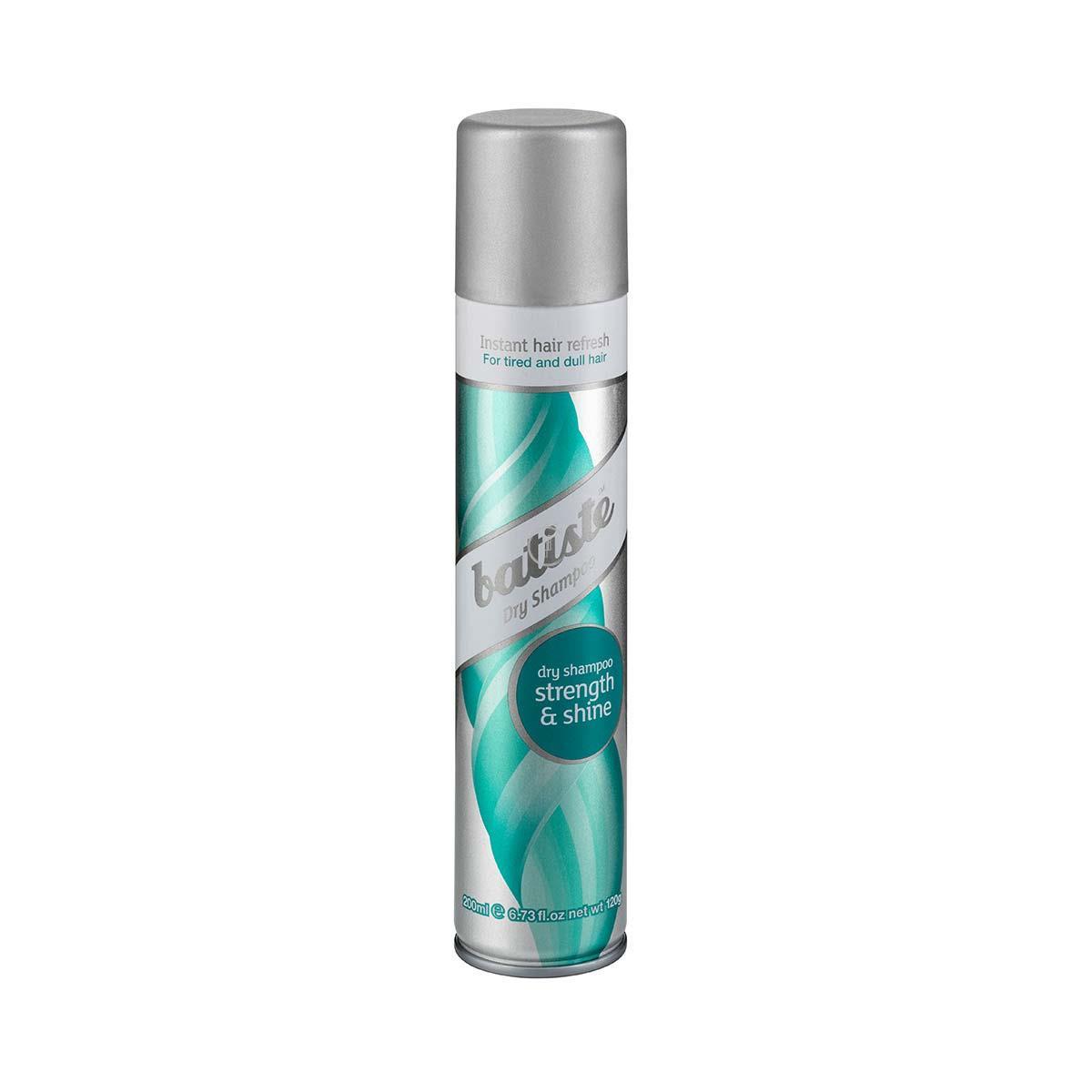Suchy szampon do włosów, odżywiający i wzmacniający z l-argininą