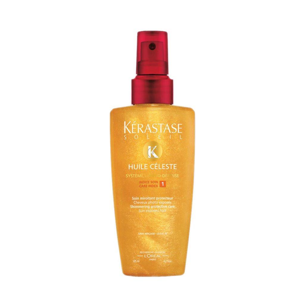 Lśniąca ochrona do wszystkich rodzajów włosów narażonych na działanie słońca (bez spłukiwania)