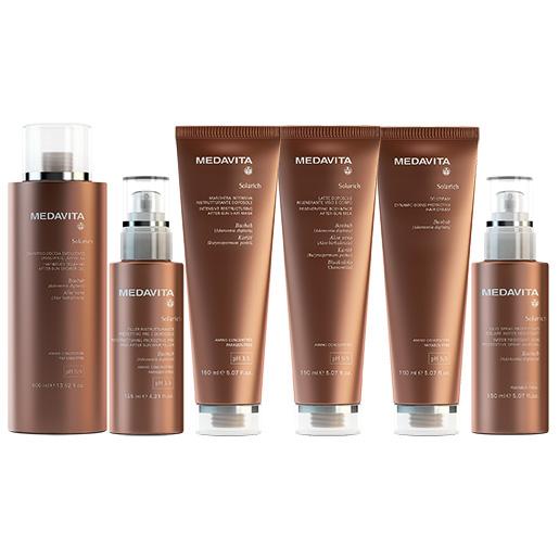 MEDAVITA Solarich - słoneczna linia kosmetyków do włosów i ciała