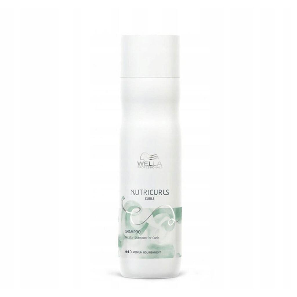 Wella Nutricurls Micellar Shampoo for Curls 250ml - Szampon micelarny do loków