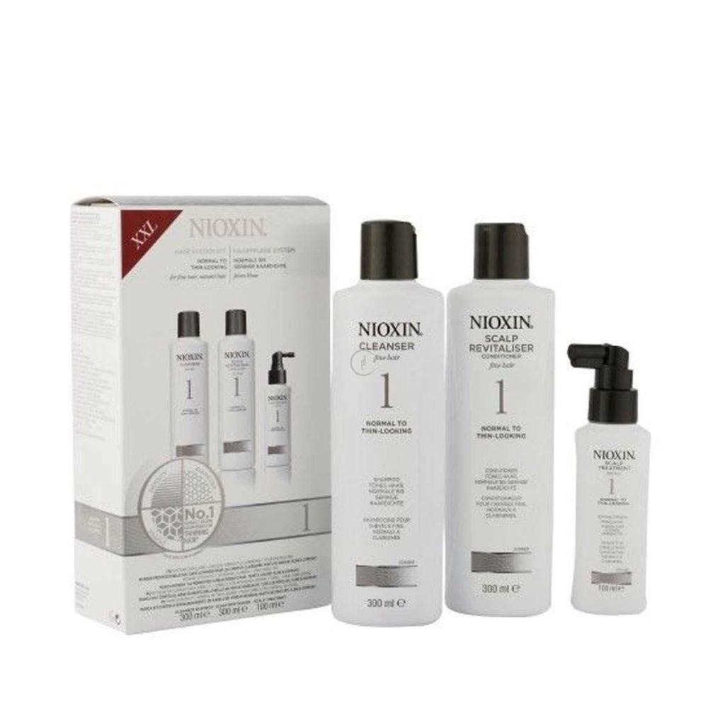 Zestaw włosy normalne lub cienkie, delikatne, naturalne (szampon 300ml + odżywka 300ml + kuracja 100ml)