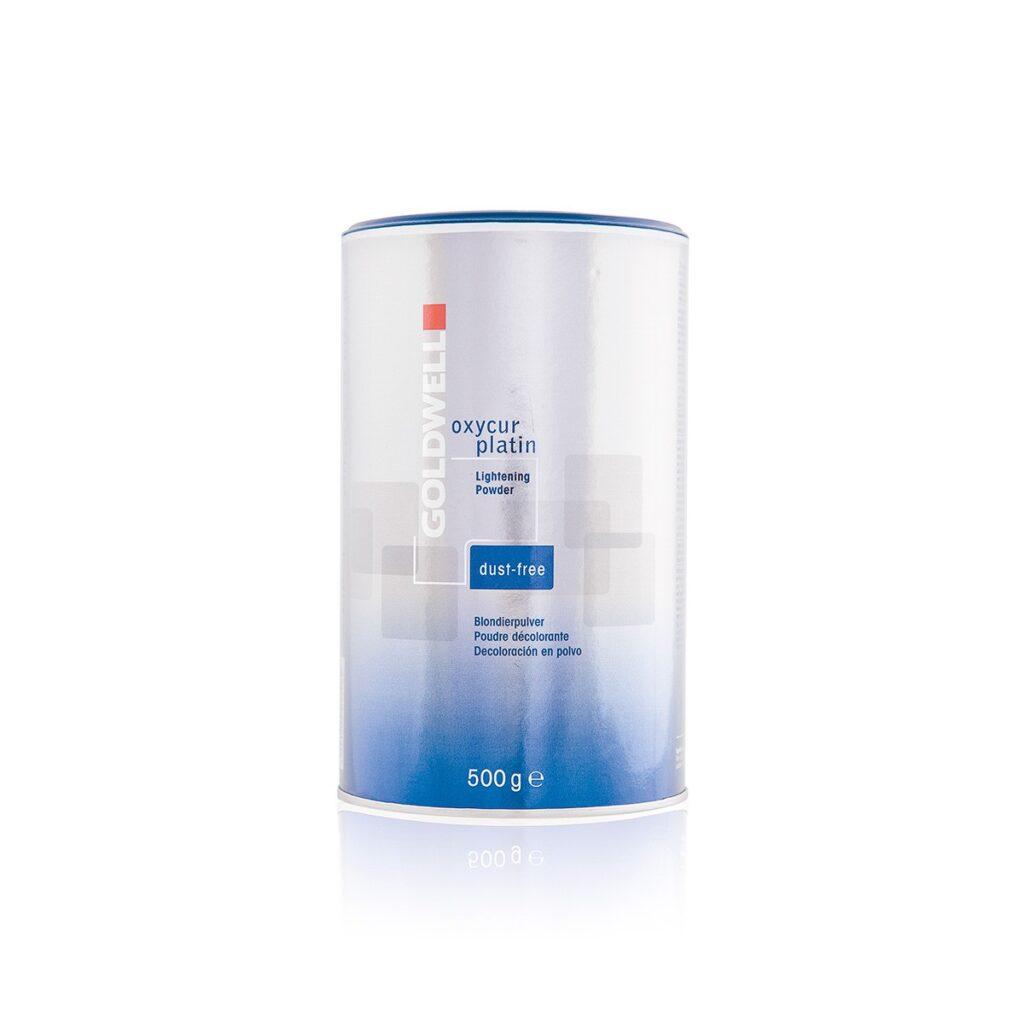 GOLDWELL Oxycur Platin Dust Free 500 g - Bezpyłowy proszek rozjaśniający nawet o 7 tonów