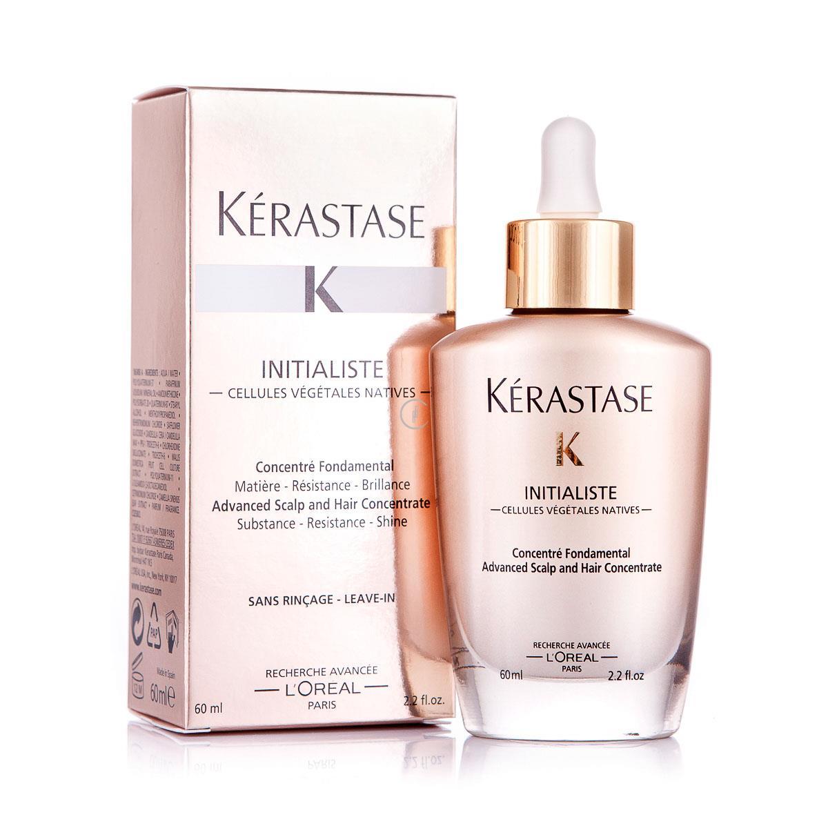 KERASTASE Initialiste 60ml - Serum wzmacniające, odżywiające i pogrubiające do skóry głowy i włosów