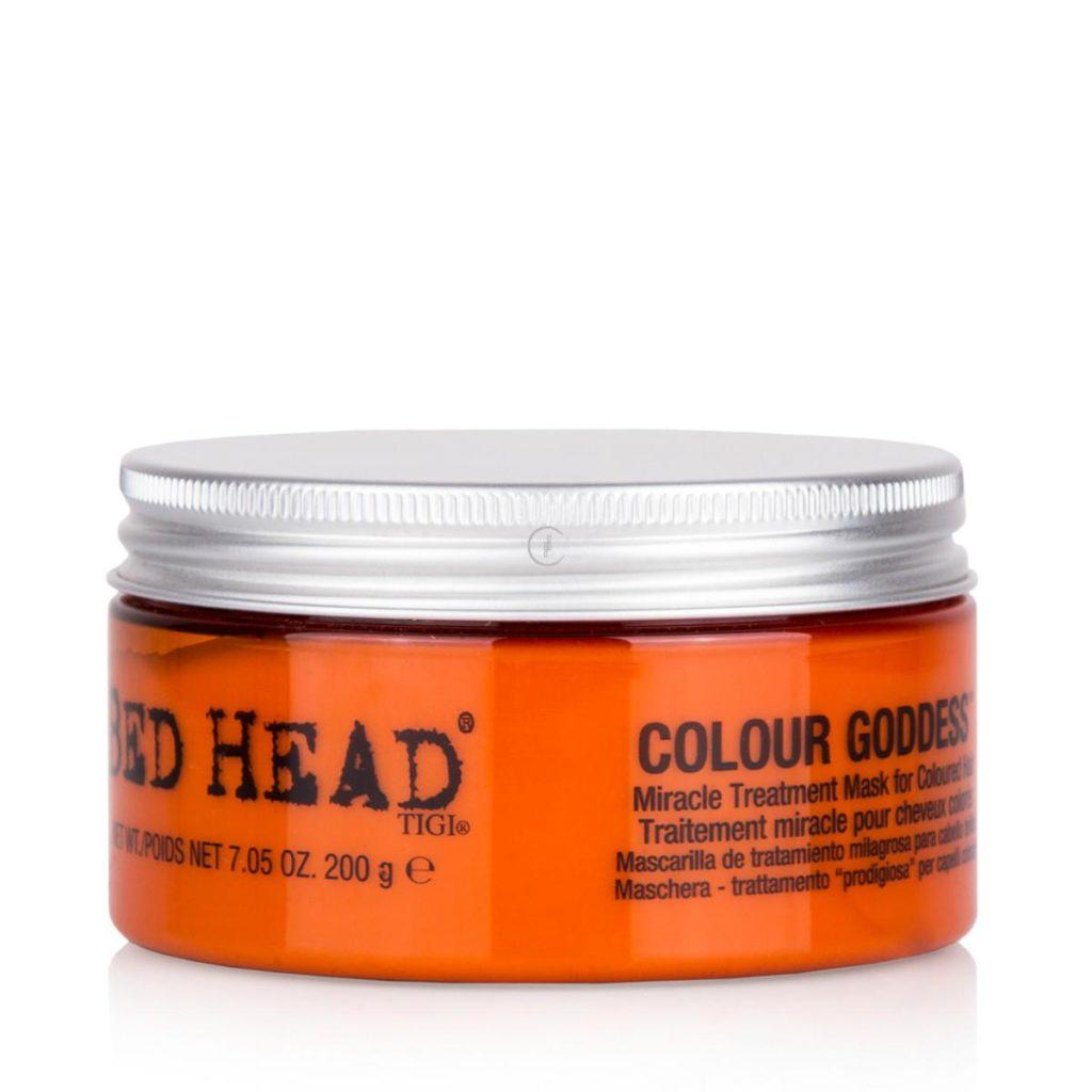 Maska do włosów farbowanych dla rudych i brunetek