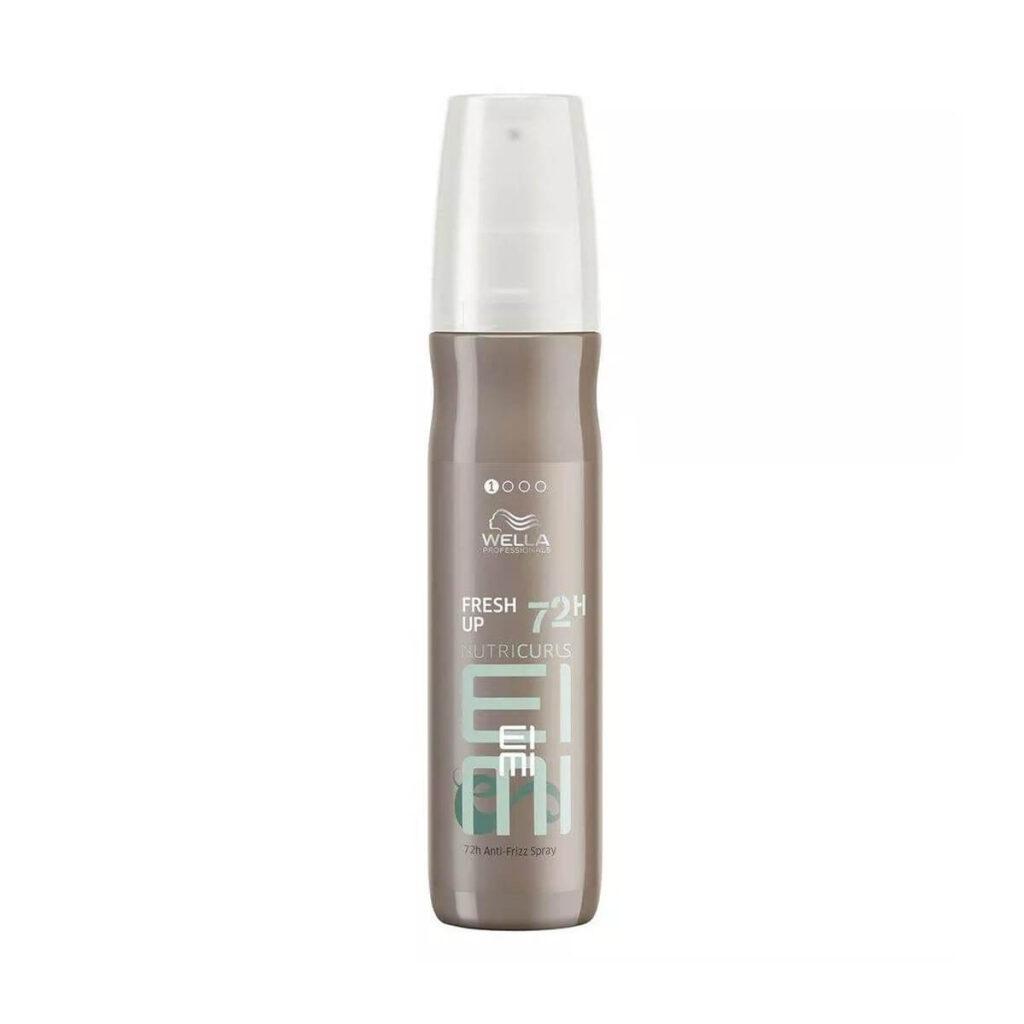 Spray przeciw puszeniu do włosów kręconych loków
