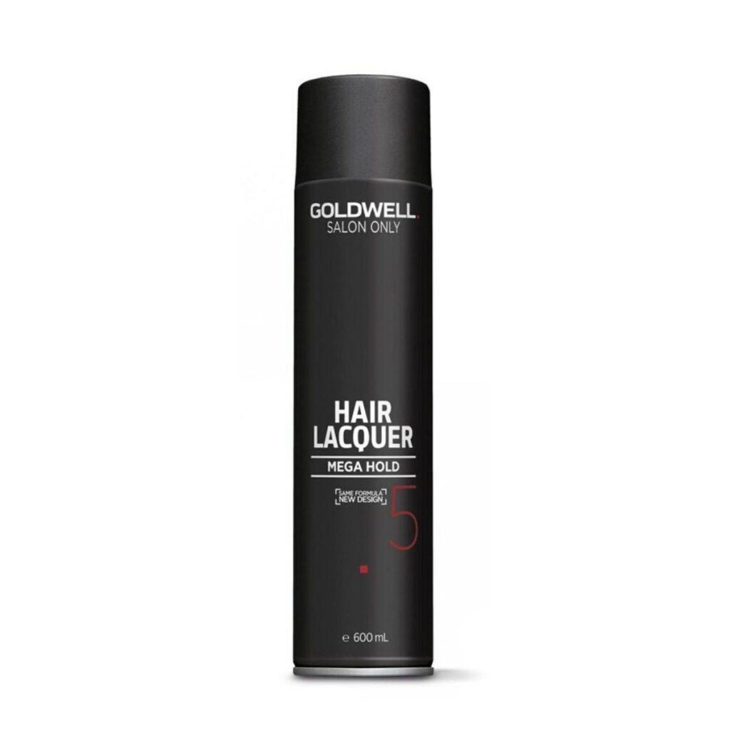 GOLDWELL Hair Lacquer Salon Only Hair Spray Black 600ml - Lakier do mocnego utrwalenia fryzury