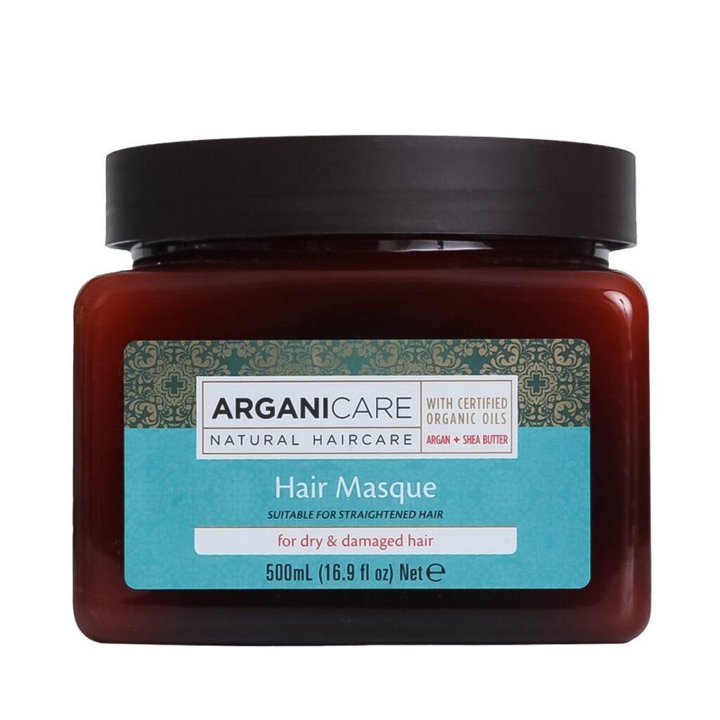 ARGANICARE Shea Butter Dry & Damaged Hair Masque 500ml - Maska do włosów suchych i zniszczonych z masłem Shea