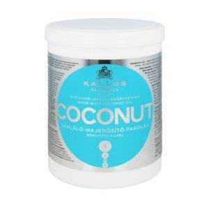 Maska odżywcza z olejkiem kokosowym