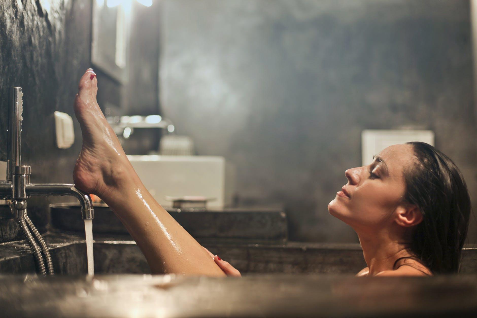 wanna relaks pachnąca kąpiel