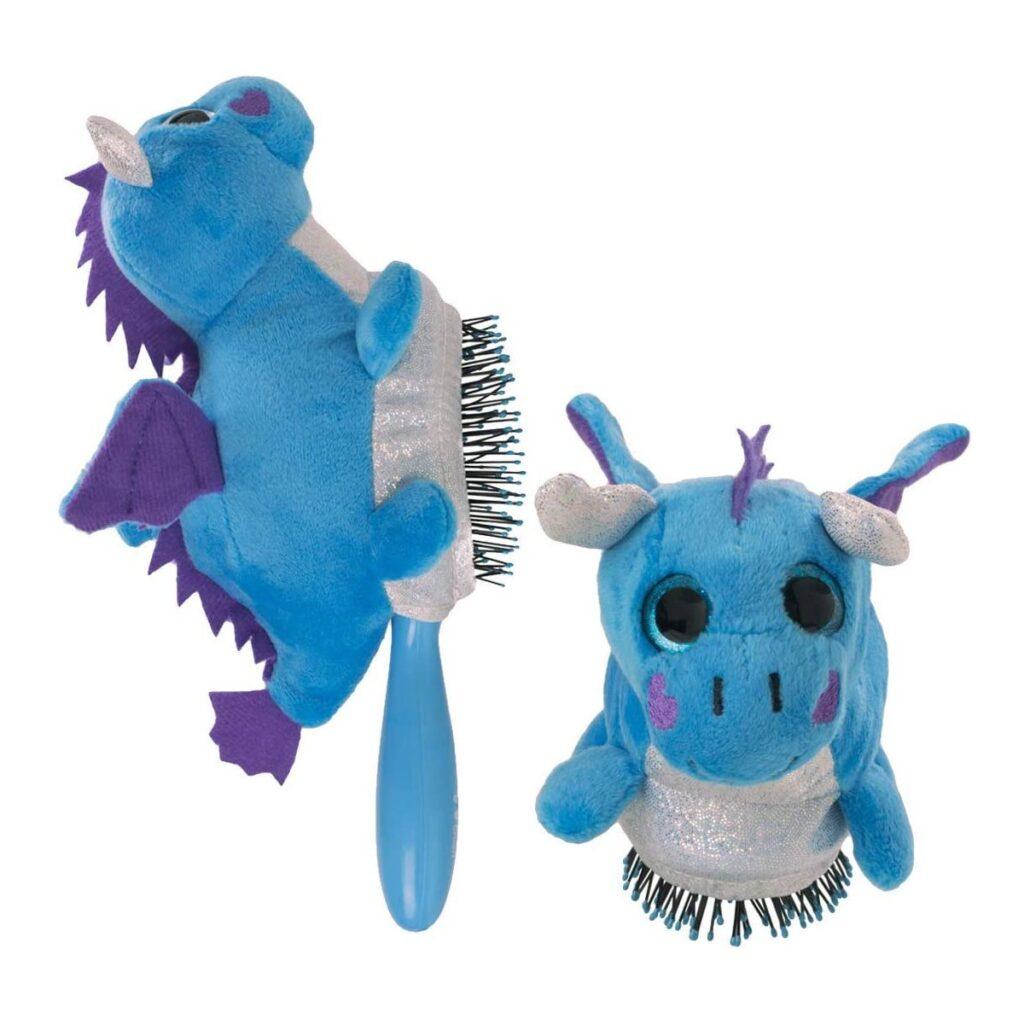WET BRUSH Plush Dragon - Szczotka do włosów dla dzieci (z maskotką)