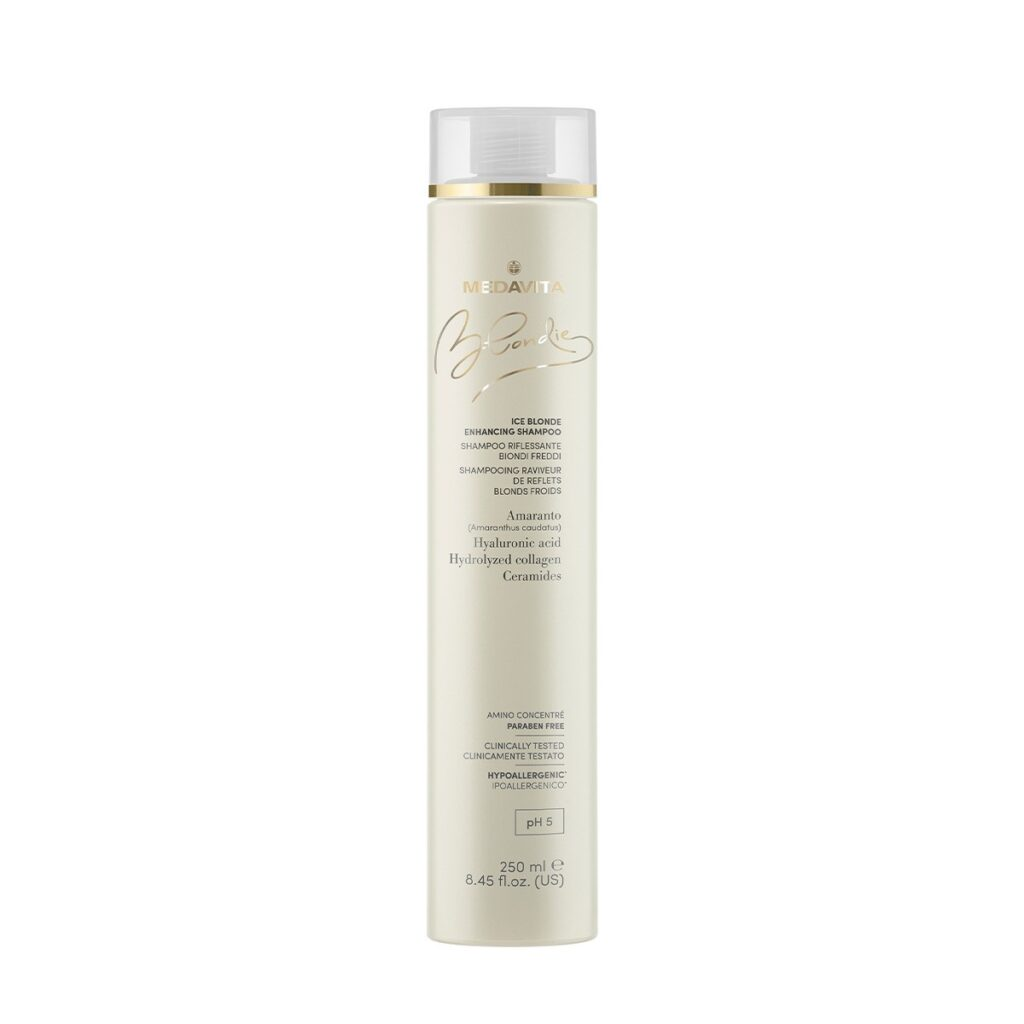 MEDAVITA Blondie Ice Blonde Enhancing Shampoo 250ml - Szampon wzmacniający kolor do chłodnych blondów