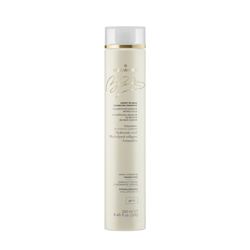 MEDAVITA Blondie Sunset Blonde Enhancing Shampoo 250ml - Szampon wzmacniający kolor do ciepłych blondów