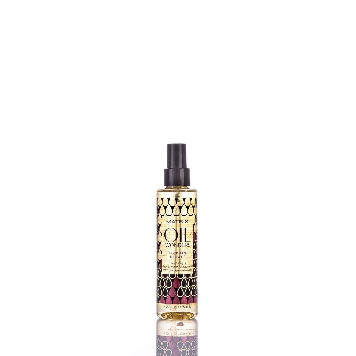 MATRIX Oil Wonders Egyptian Hibiscus Oil 125ml - Olejek do włosów koloryzowanych