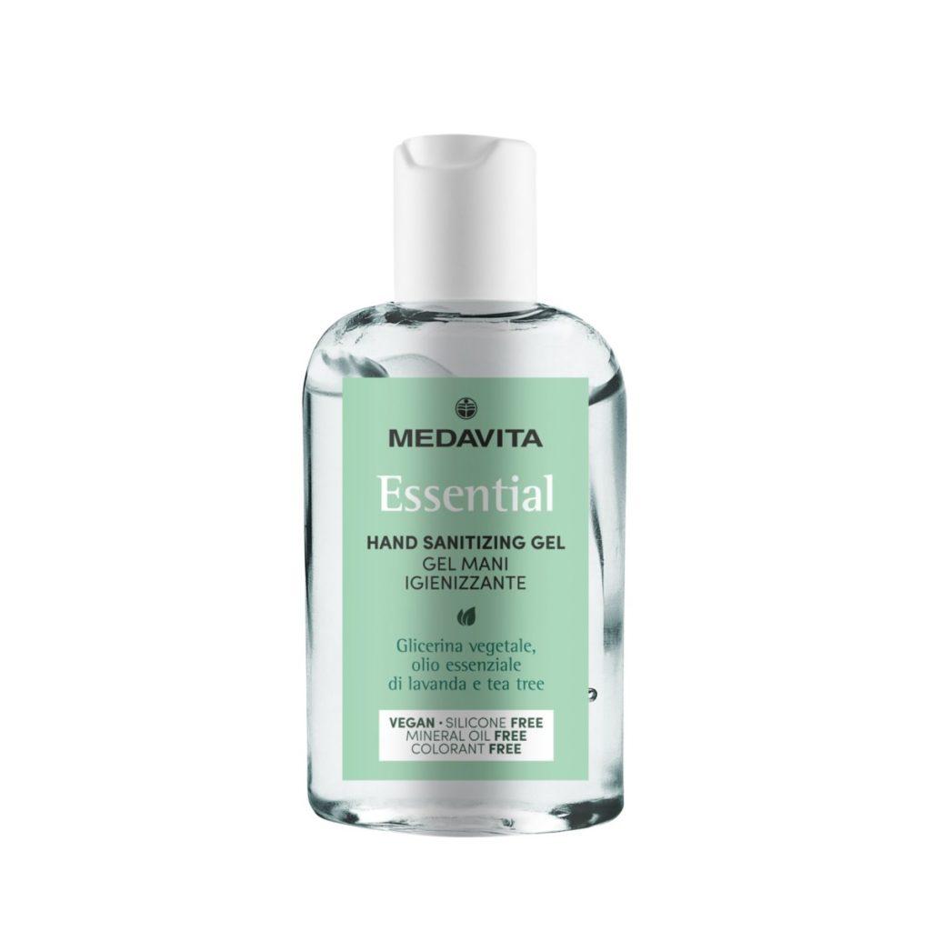 Antywirusowy żel antybakteryjny do rąk 100ml 60% alkoholu - MEDAVITA Essential Hand Sanitizing Gel