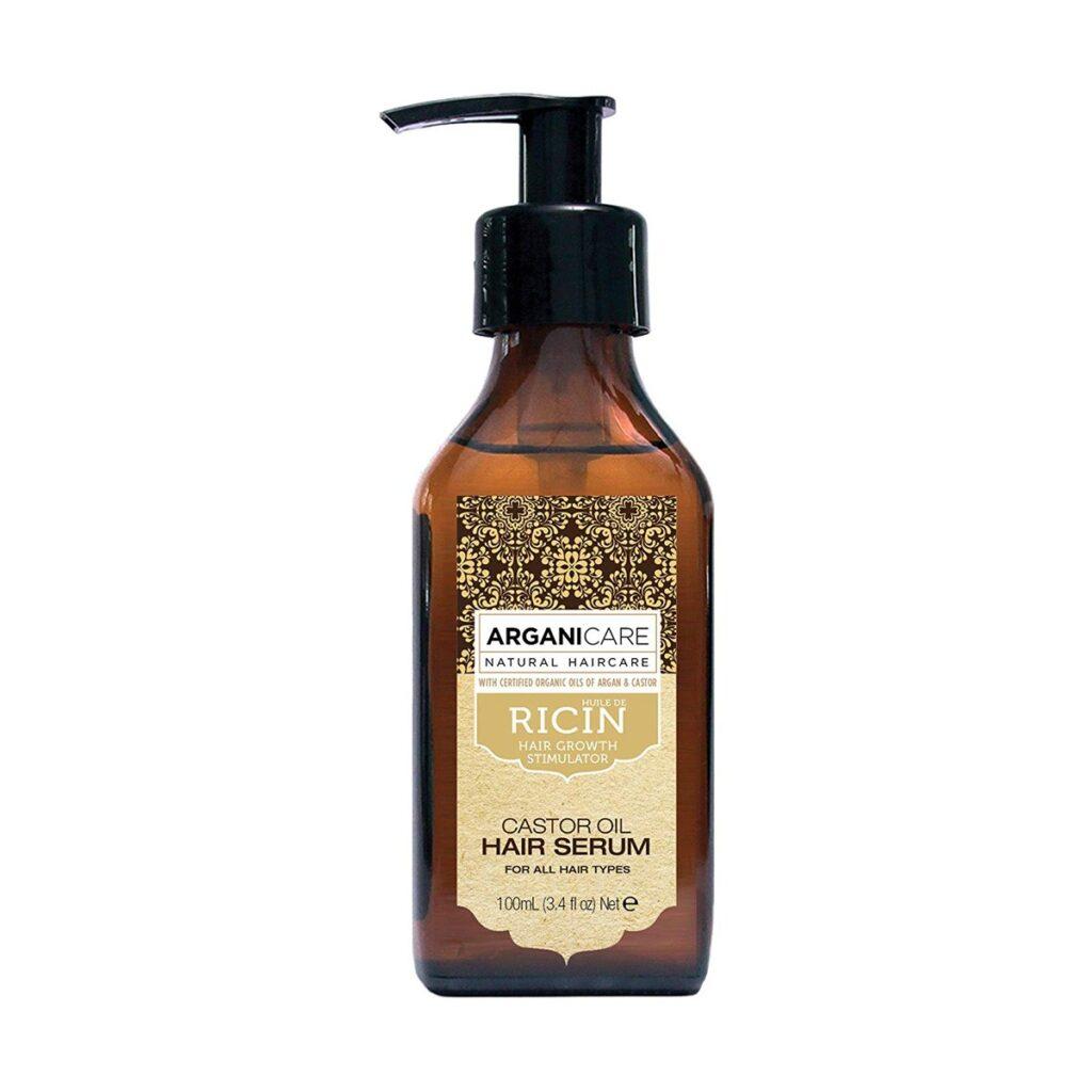 ARGANICARE Castor Oil Hair Serum 100ml - Serum stymulujące porost włosów z olejem rycynowym