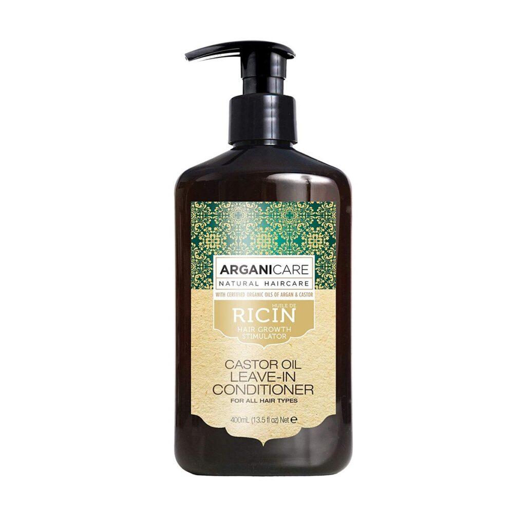 ARGANICARE Castor Oil Leave-in Conditioner 400ml - Odżywka bez spłukiwania stymulująca porost włosów z olejem rycynowym