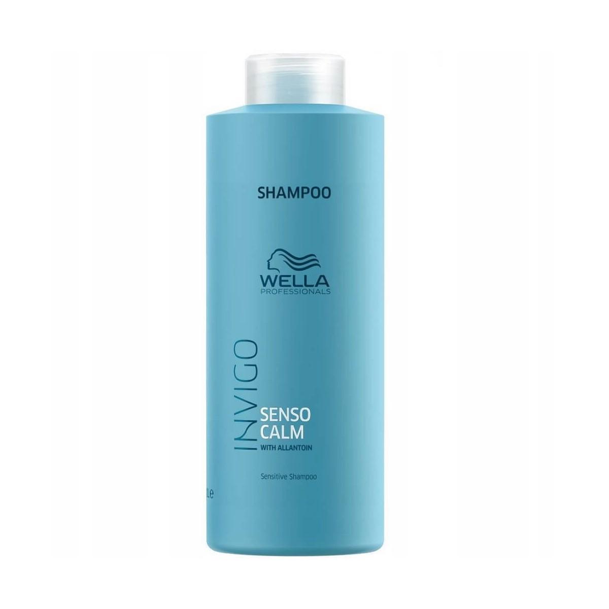WELLA Invigo Senso Calm Shampoo 1000ml - Szampon oczyszczający do wrażliwej skóry głowy