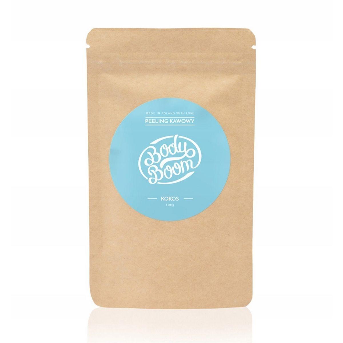 BODY BOOM Peeling Kawowy 100g - Kokos