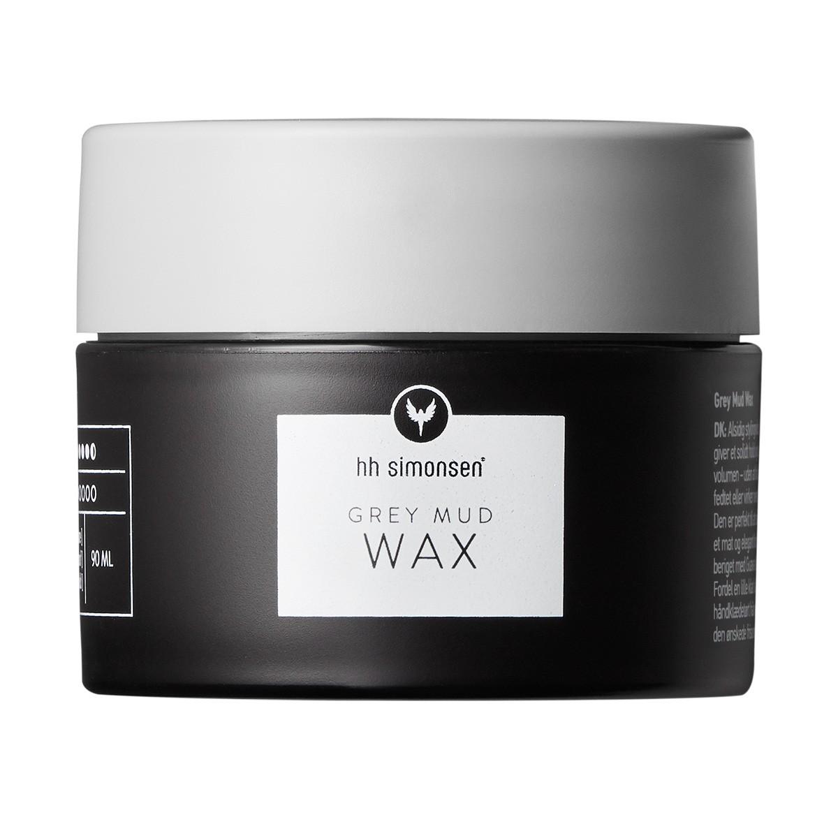 HH SIMONSEN Grey Mud Wax 90ml - Wosk do stylizacji włosów o elastycznej mocy utrwalenia