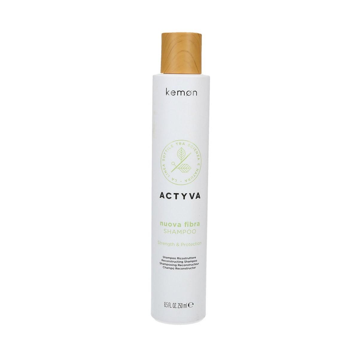 KEMON Actyva Nuova Fibra Shampoo 250ml - Szampon odbudowujący