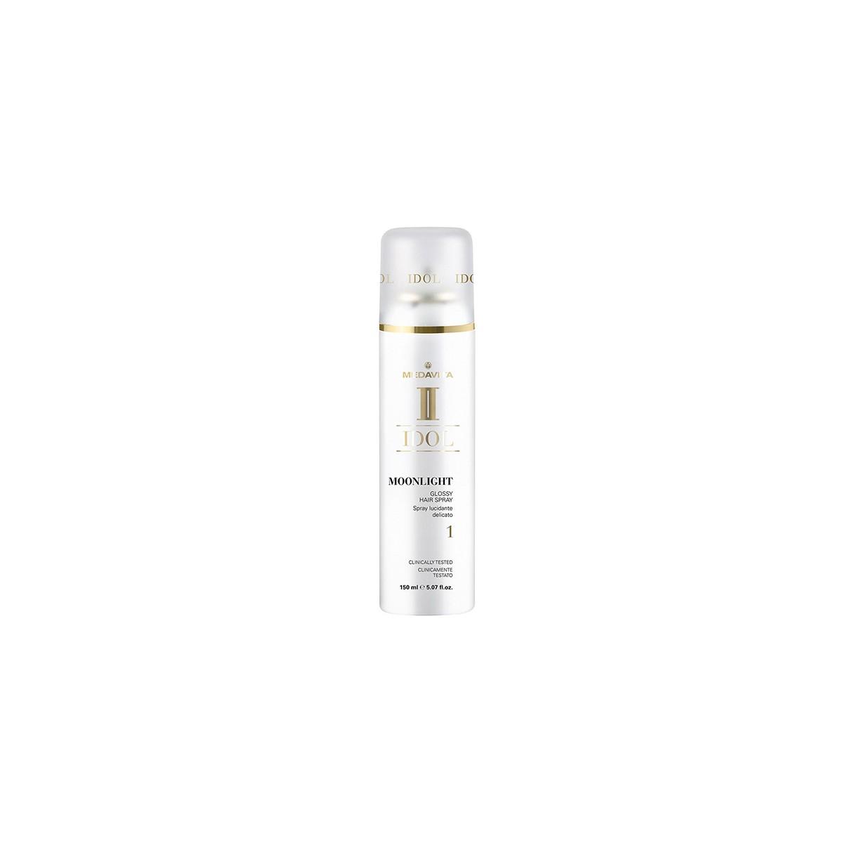 MEDAVITA Idol Moonlight Glossy Hair Spray 150ml - Lakier do włosów nabłyszczający