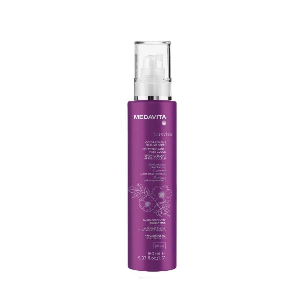 MEDAVITA Luxviva Color Fixative Sealing Spray 150ml - Spray uszczelniający i utrzymujący kolor