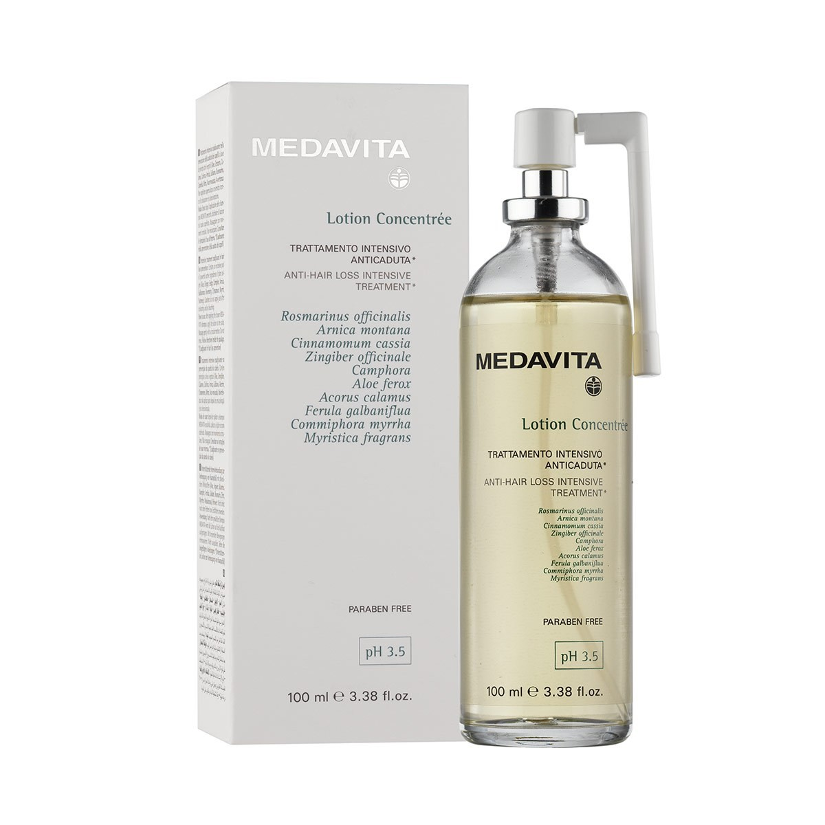 MEDAVITA LC Homme Trattamenta Intensivo Anticaduta 100ml - Tonik lotion przeciw wypadaniu włosów