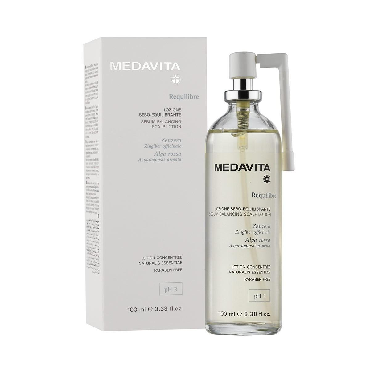 MEDAVITA Requilibre Lozione Sebo-Equilibrante 100ml - Tonik lotion do włosów przetłuszczających się