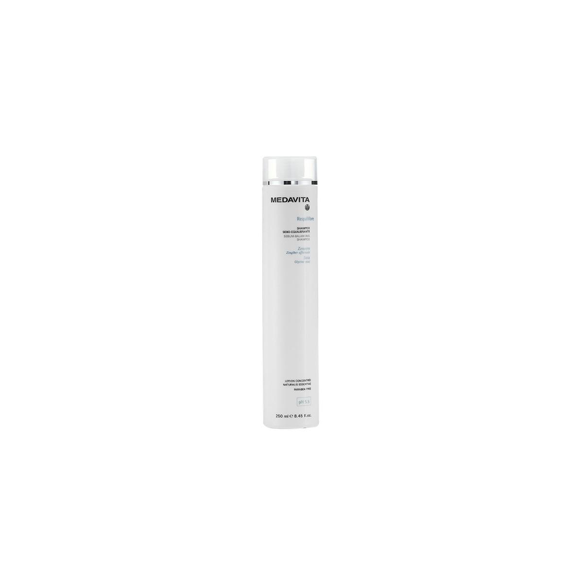 MEDAVITA Requilibre Shampoo Sebo-Equilibrante 250ml - Szampon do włosów przetłuszczających się