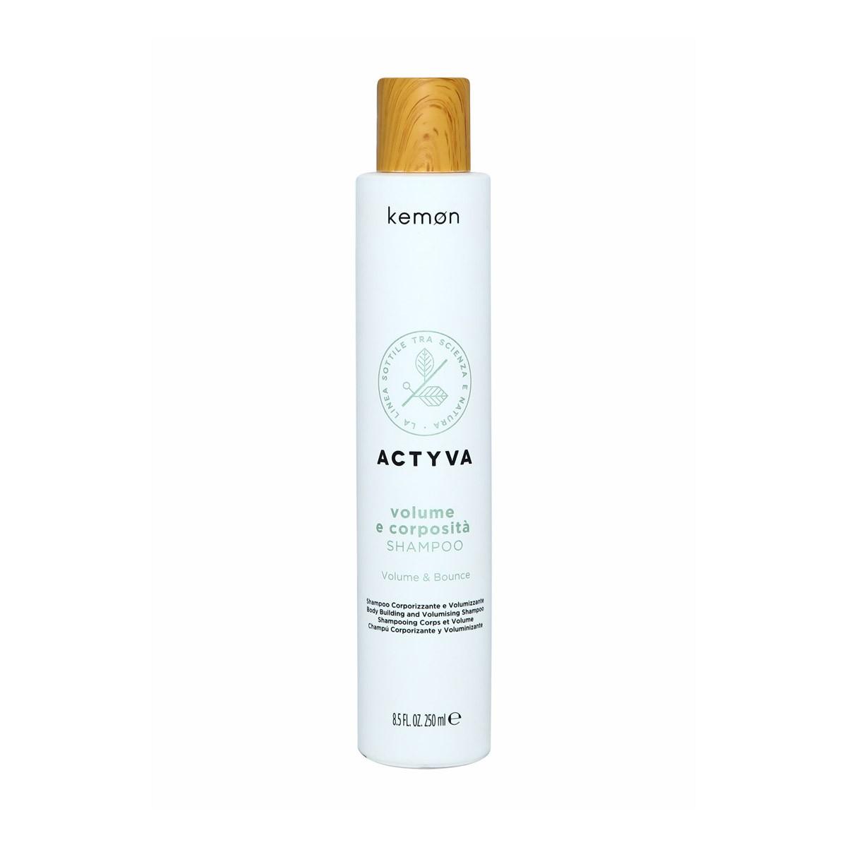 KEMON Actyva Volume e Corposita Shampoo 250ml - Szampon zwiększający objętość fryzury