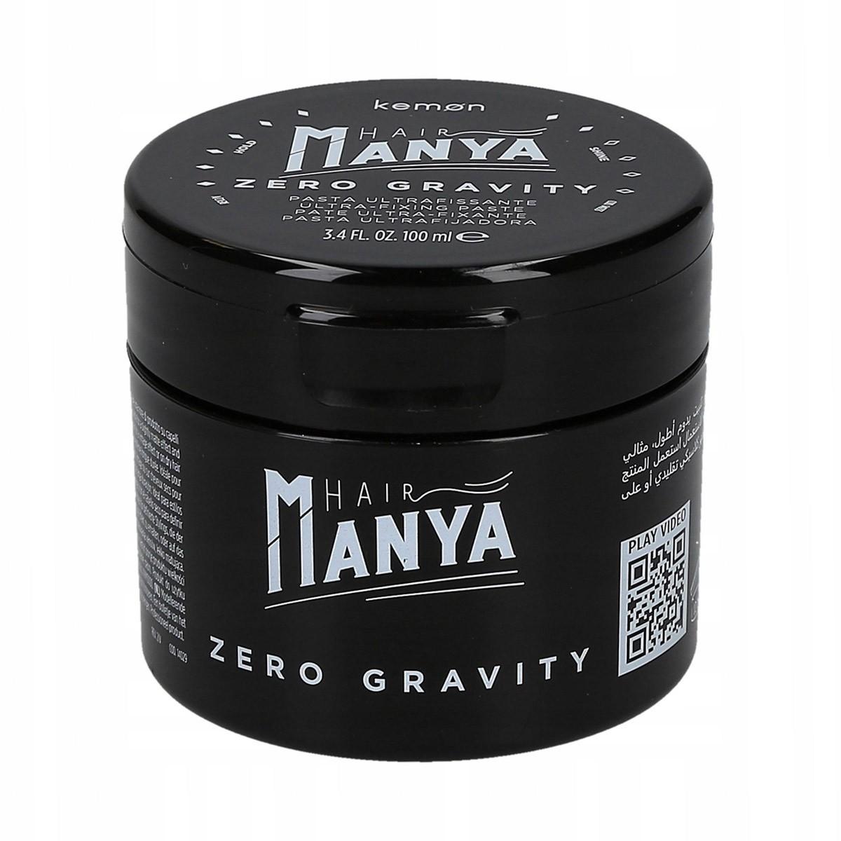 KEMON Hair Manya Zero Gravity Pasta 100ml - Pasta do modelowania