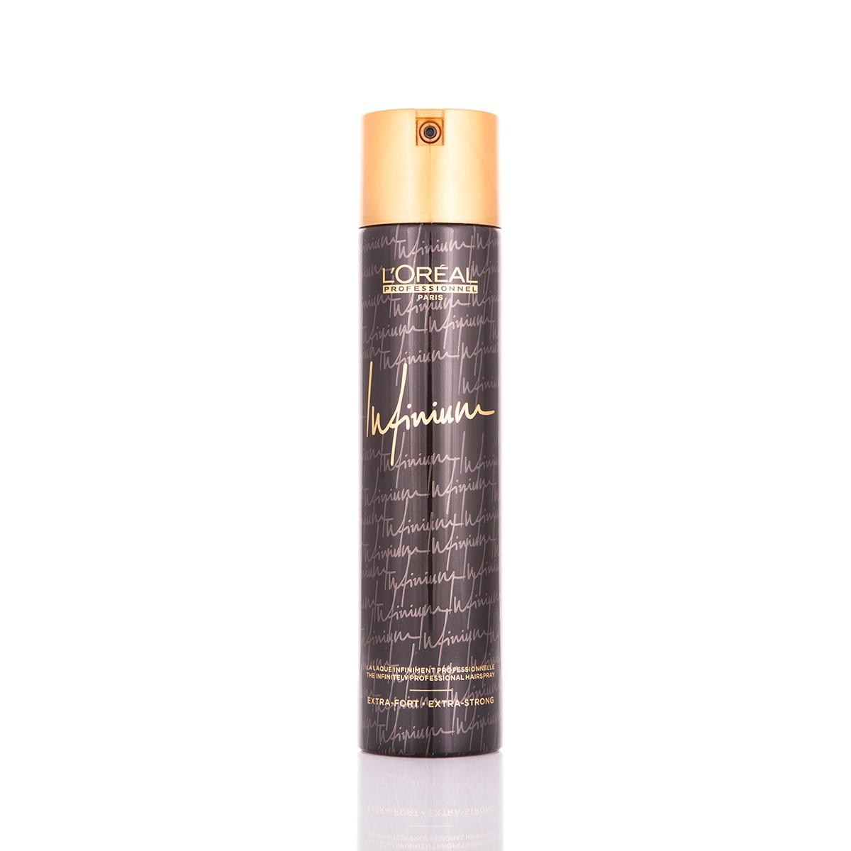 LOREAL Infinium Hairspray Extra Strong 500ml - Lakier do włosów
